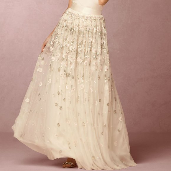 Needle & Thread Dresses & Skirts - BHLDN Needle & Thread Maisey Skirt Size 4 NEW